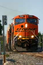 Westbound BNSF Intermodal Train